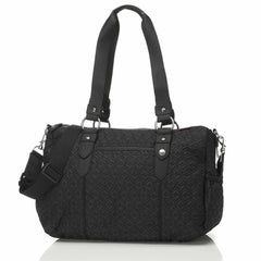 Changing Bags - Babymel Changing Bag - Ella - Quilted Black