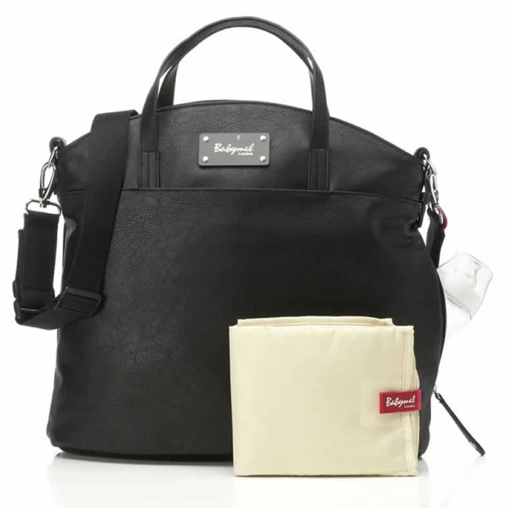 Changing Bags - Babymel Changing Bag - Grace - Black