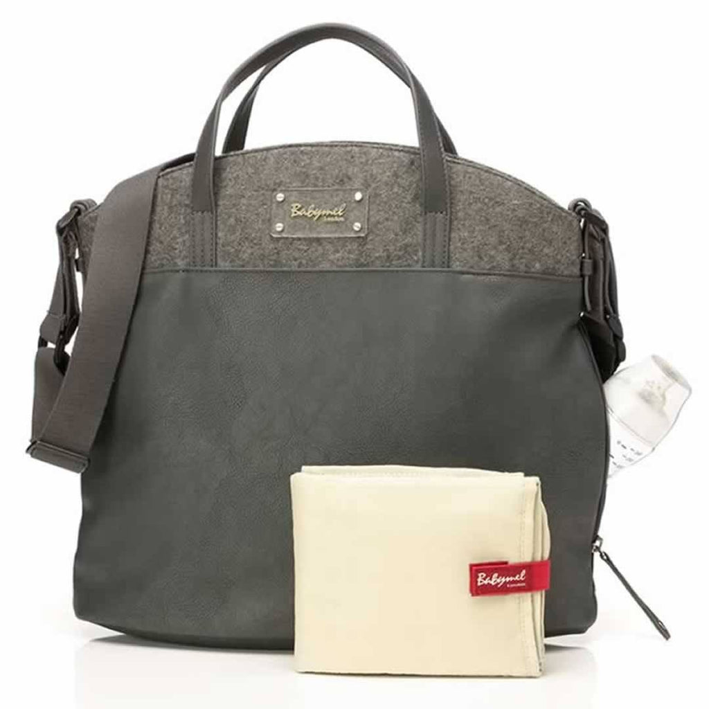 Babymel Changing Bag - Grace - Grey - Changing Bags - Natural Baby Shower