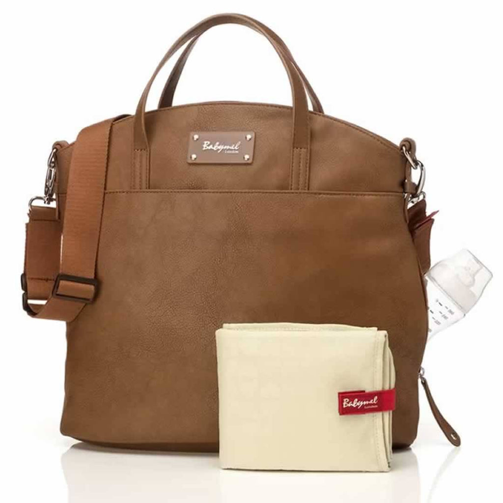 Changing Bags - Babymel Changing Bag - Grace - Tan