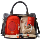 Changing Bags - PacaPod Changing Bag - Firenze - Chocolate