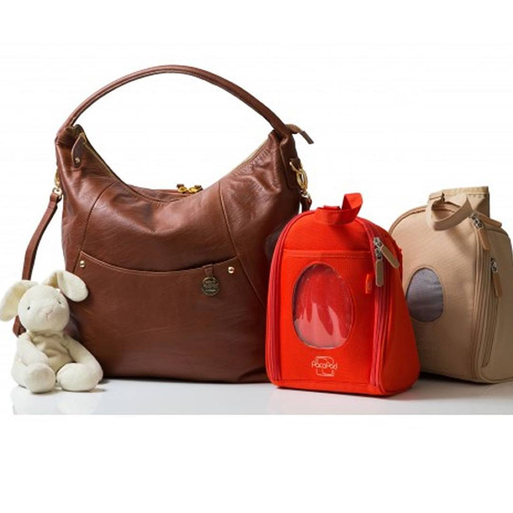 Changing Bags - PacaPod Changing Bag - Jasper - Chestnut
