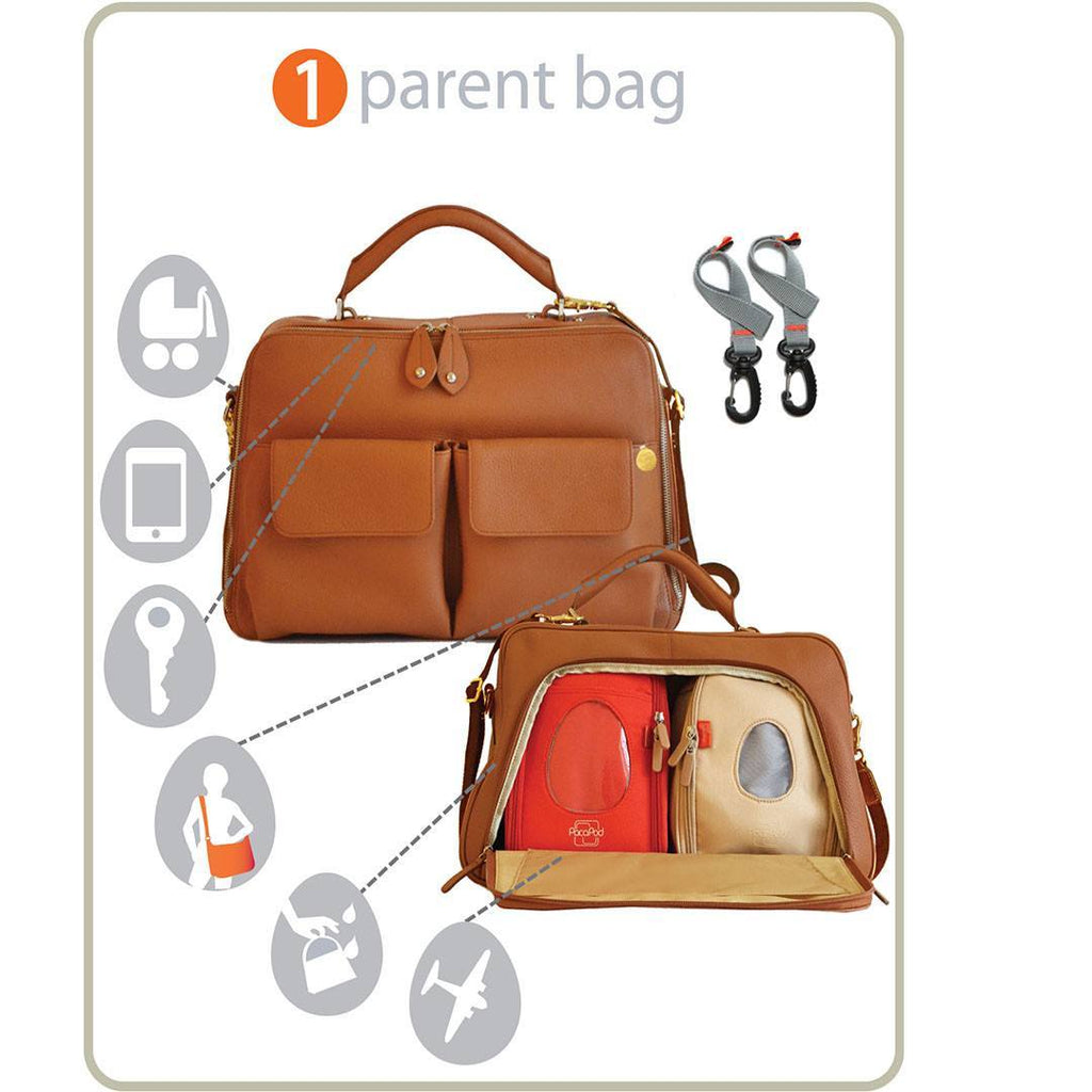PacaPod Changing Bag - Madison - Tan-Changing Bags-Default- Natural Baby Shower