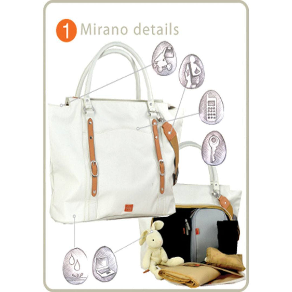 PacaPod Changing Bag - Mirano - Pewter-Changing Bags-Default- Natural Baby Shower