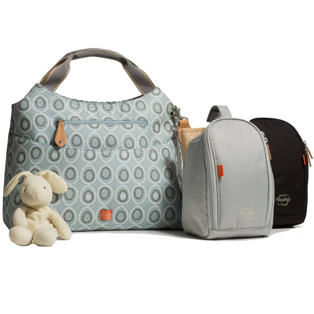 Changing Bags - PacaPod Changing Bag - Napier - Moonstone