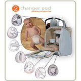 PacaPod Changing Bag - Napier - Moonstone - Changing Bags - Natural Baby Shower