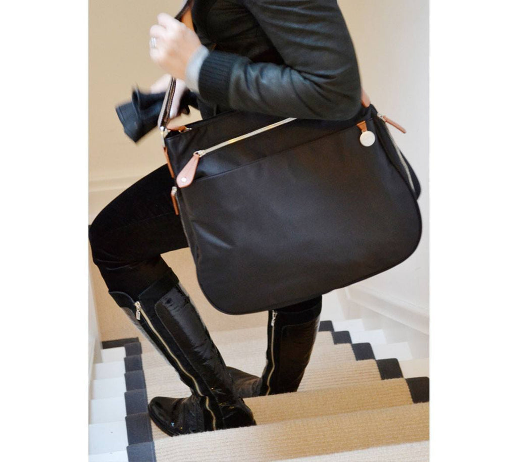 Changing Bags - PacaPod Changing Bag - Portland - Black