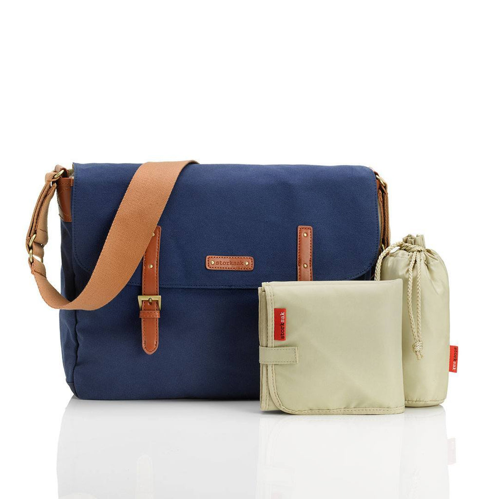Storksak Changing Bag - Ashley - Blue - Changing Bags - Natural Baby Shower