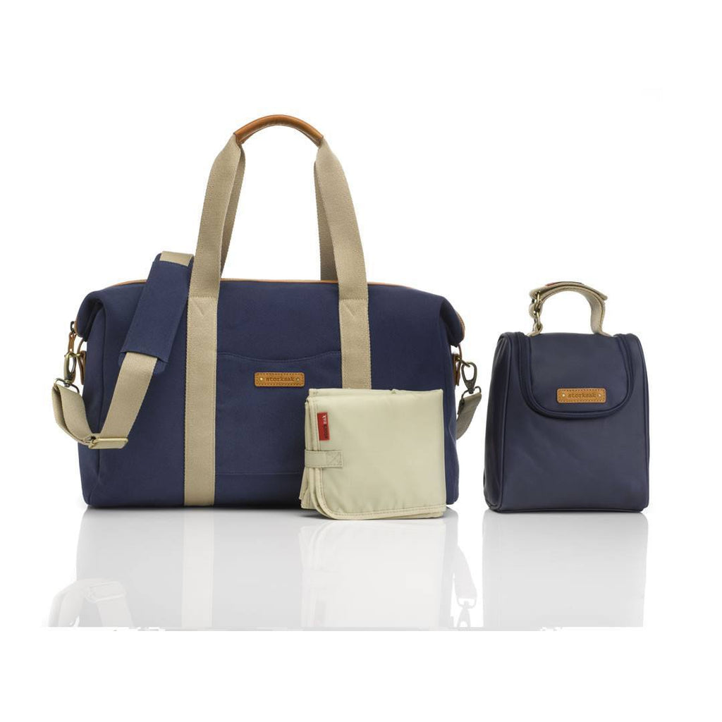 Changing Bags - Storksak Changing Bag - Bailey - Navy