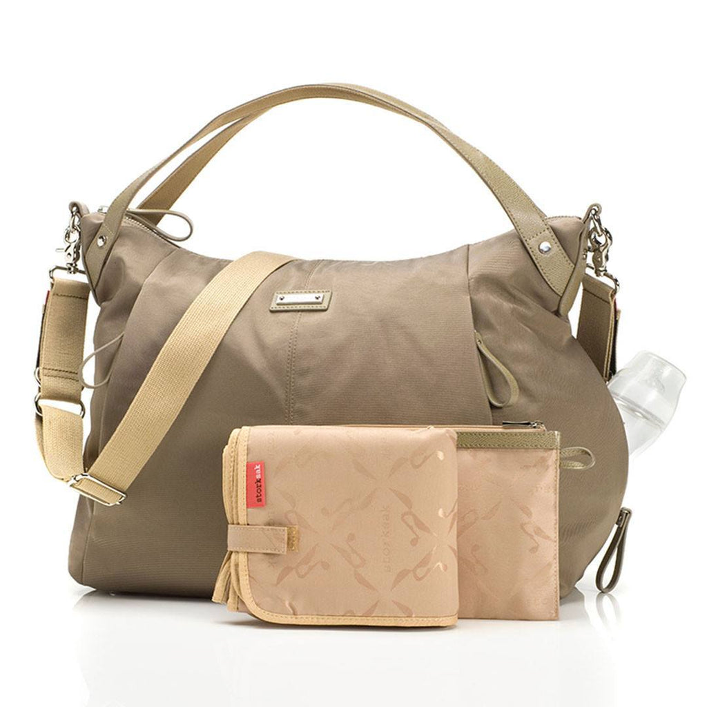 Changing Bags - Storksak Changing Bag - Catherine Nylon - Moss