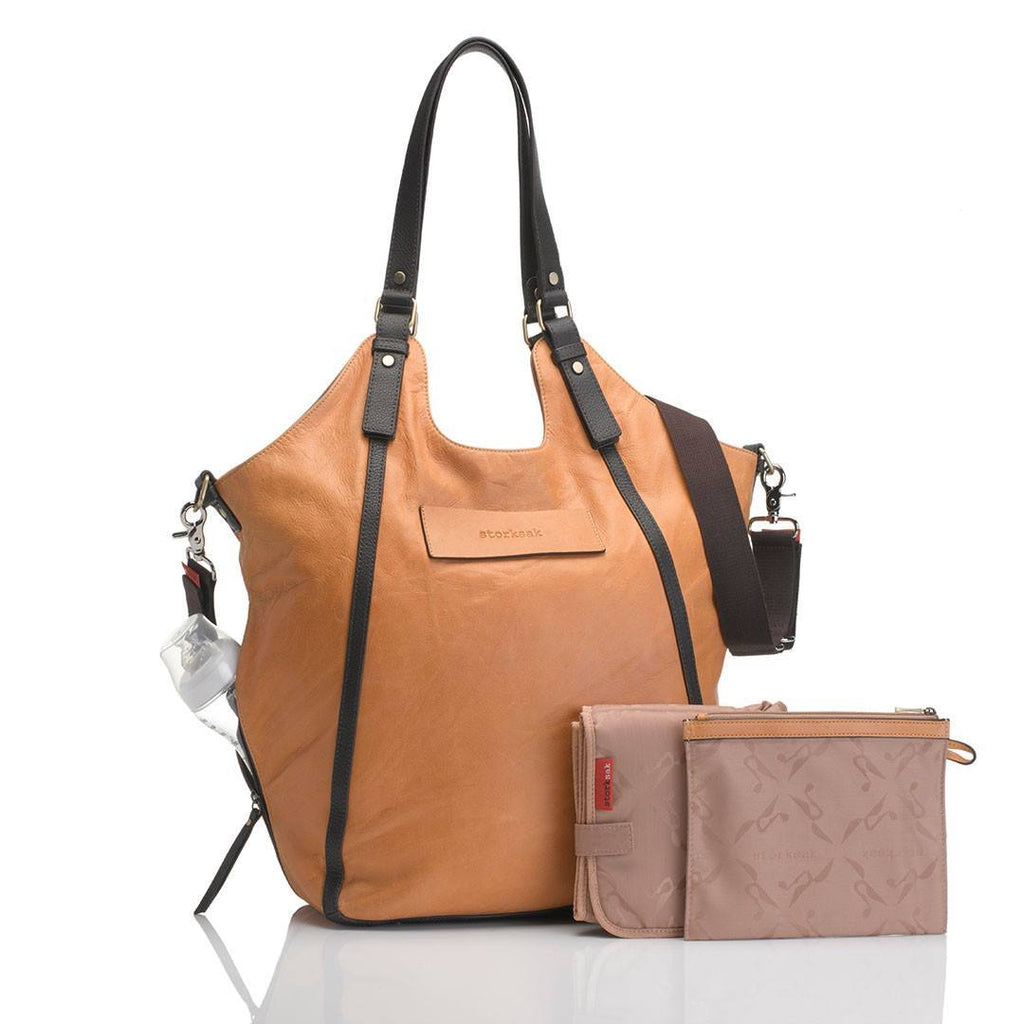 Changing Bags - Storksak Changing Bag - Ellena - Twisted Tan