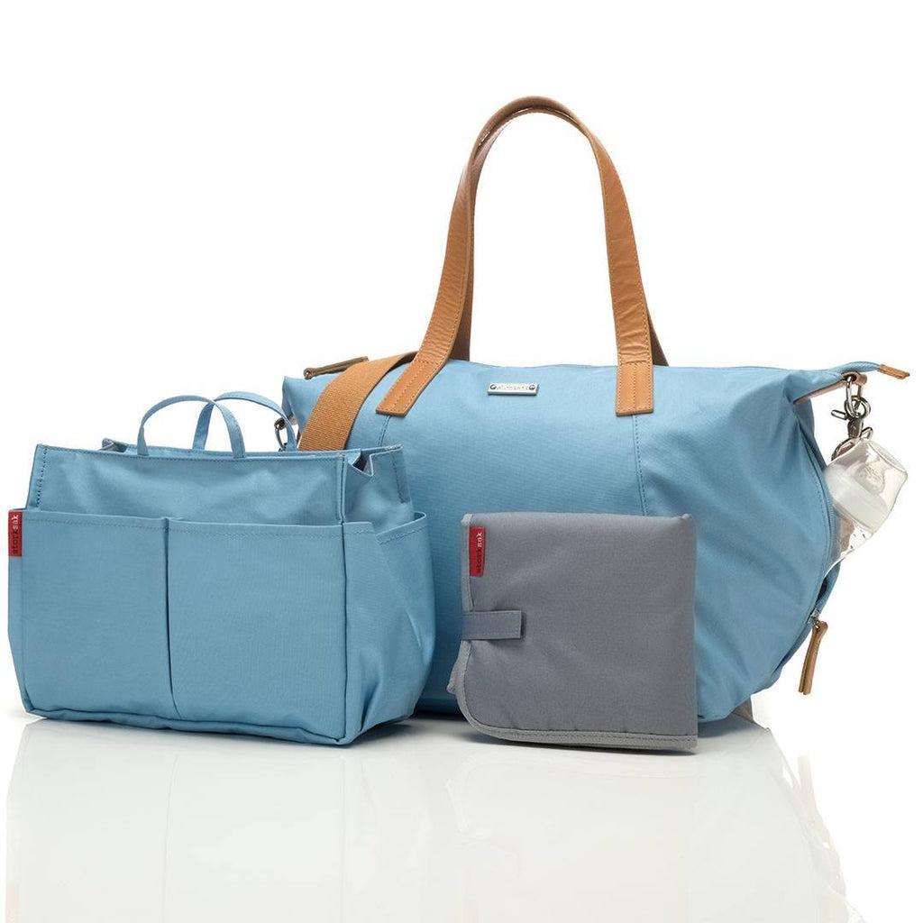 Changing Bags - Storksak Changing Bag - Noa - Powder Blue