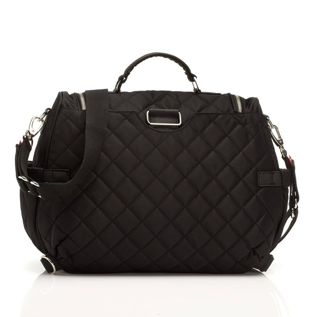 Changing Bags - Storksak Changing Bag - Poppy - Black