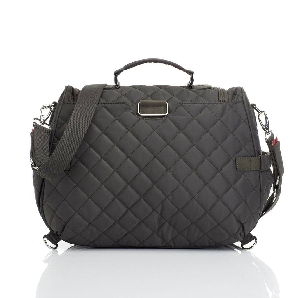 Changing Bags - Storksak Changing Bag - Poppy - Charcoal