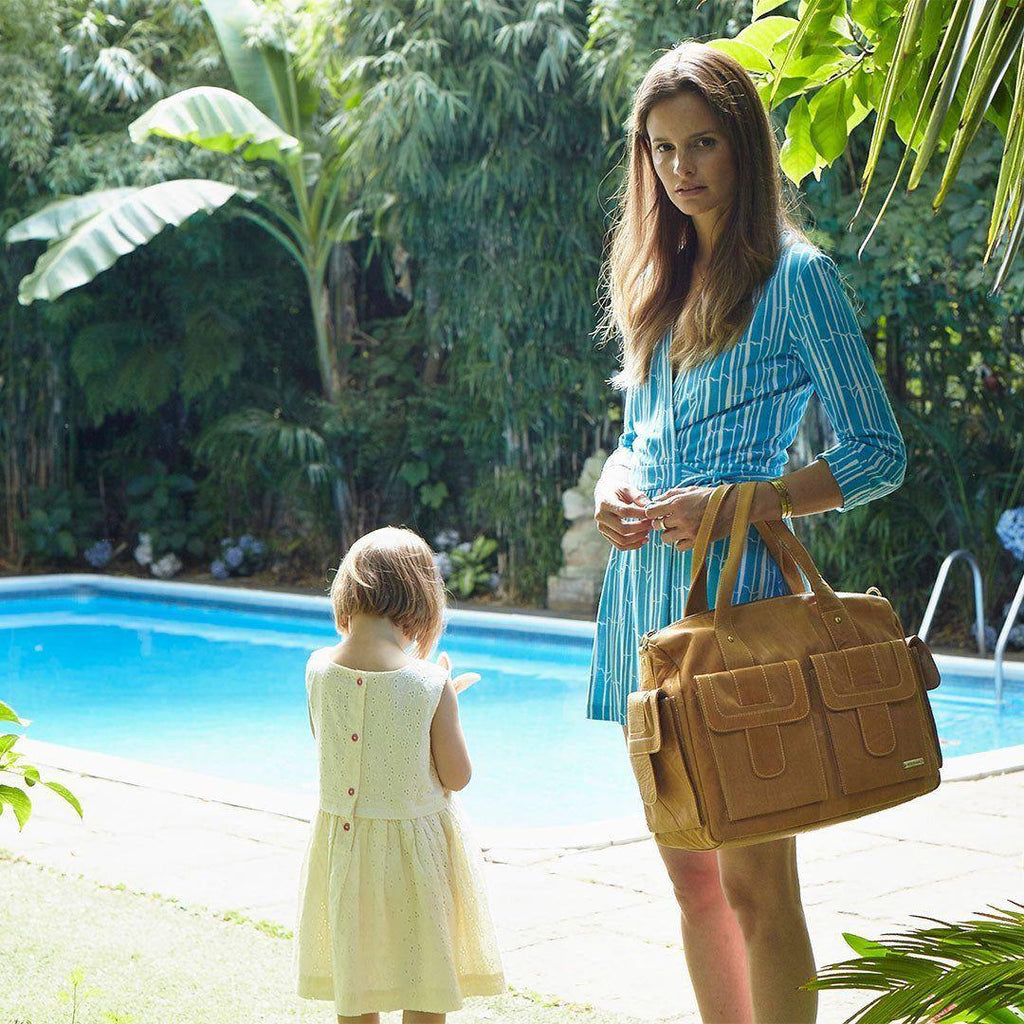 Storksak Changing Bag - Sofia - Tan - Changing Bags - Natural Baby Shower