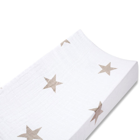 aden + anais Changing Mat Cover - Super Star Scout - Changing Mats & Covers - Natural Baby Shower