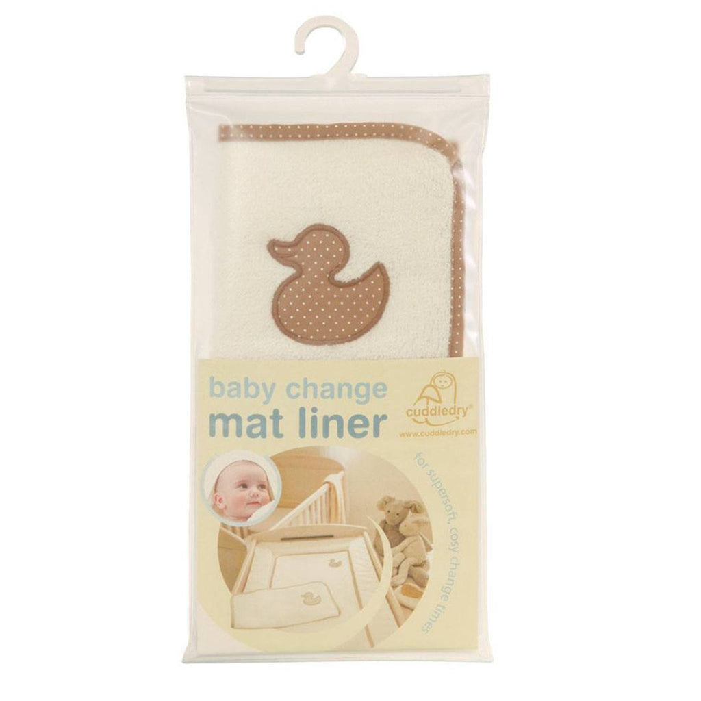 Cuddledry Super Soft Baby Change Mat Liner - Changing Mats & Covers - Natural Baby Shower