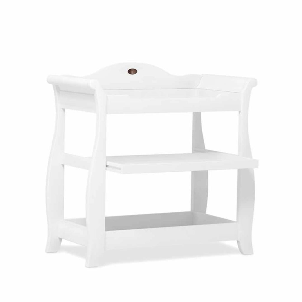 Changing Tables - Boori Sleigh Changer - White