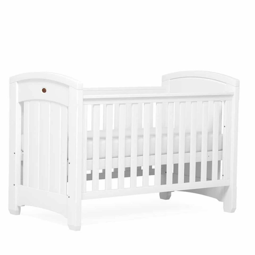 Boori Classic Royale 2 Piece Nursery Set Cot in White