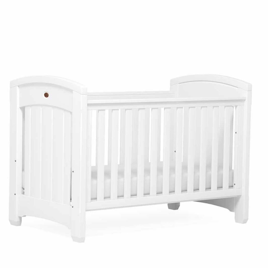 Boori Classic Royale 2 Piece Nursery Set Cot - White