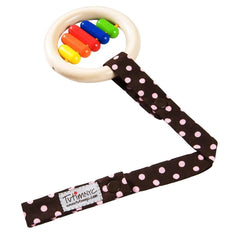 Clip Toys - Sophie La Giraffe - TutimNYC Toy Sitter - Pink Dots