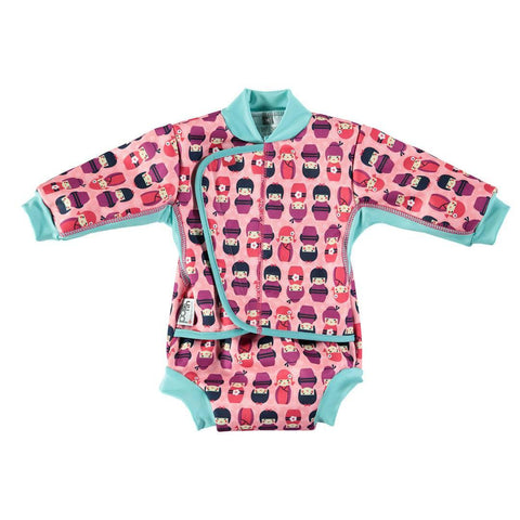 Close Pop-in Baby Cosy Suit - Kokeshi Doll