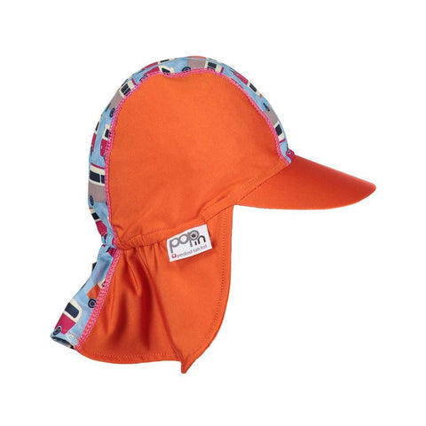 Close Pop-in Peaked Sun Hat - Campervan Blue