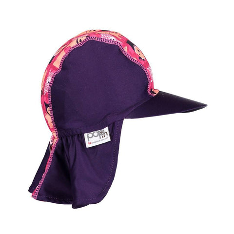 Close Pop-in Peaked Sun Hat - Edie Monster
