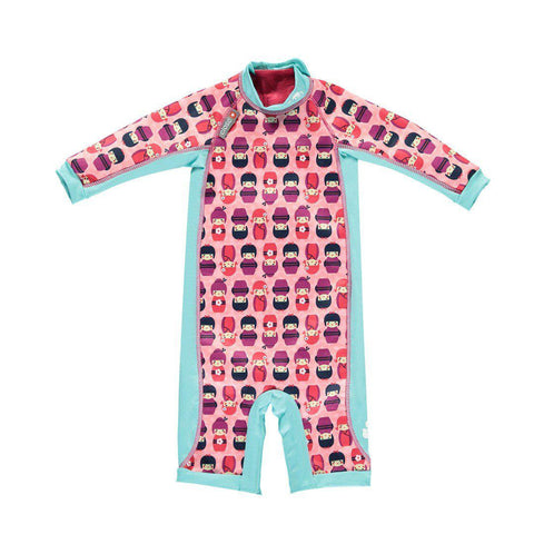 Close Pop-in Toddler Snug Suit - Kokeshi Doll