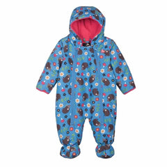 Coats & Snowsuits - Frugi Billie Pram Suit - Hedgehog Adventure