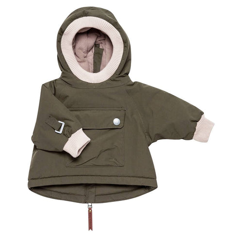 MINI A TURE Baby Wen Jacket - Olive Night - Coats & Snowsuits - Natural Baby Shower