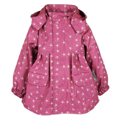 Coats & Snowsuits - MINI A TURE Charlene Raincoat - Red Violet Print