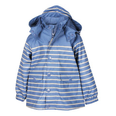 Coats & Snowsuits - MINI A TURE Julien Raincoat - Bijou Blue Stripe
