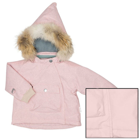 Coats & Snowsuits - MINI A TURE Wang Fur Jacket - Misty Rose