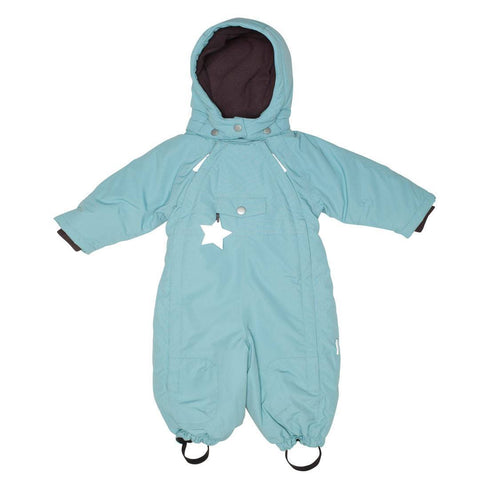 MINI A TURE Wisti Snowsuit - Cameo Blue - Coats & Snowsuits - Natural Baby Shower