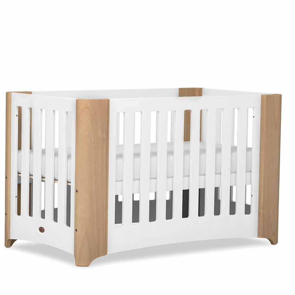 Cot Beds - Boori Dawn Expandable Cot Bed - Beach/White