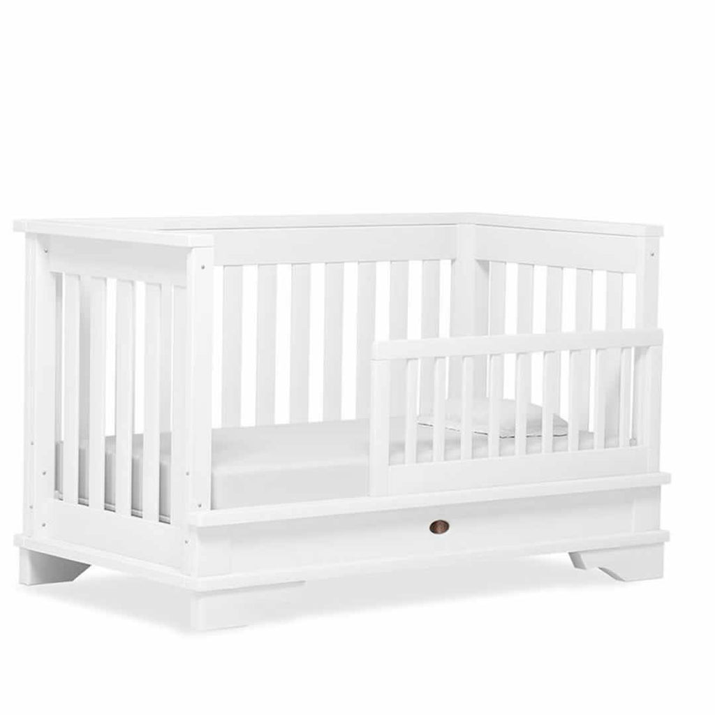 Cot Beds - Boori Eton Convertible Plus Cot Bed - White