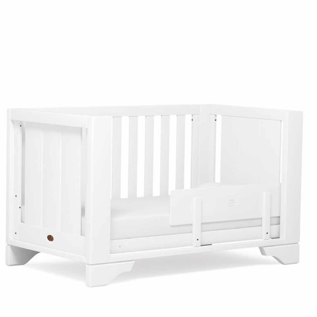 Boori Eton Expandable Cot Bed - White-Cot Beds-Without Expansion- Natural Baby Shower