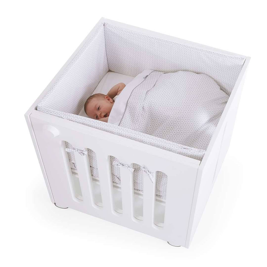 Cot Beds - Moodelli Babybox Extendable Cot