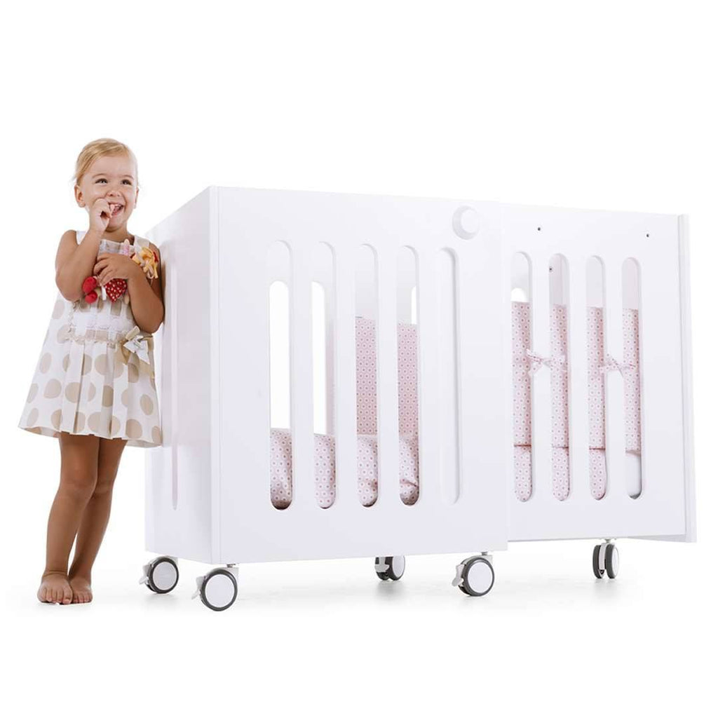 moodelli Babybox Extendable Cot - Cot Beds - Natural Baby Shower