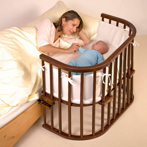BabyBay Convertible - Dark Wood-Cribs-Default- Natural Baby Shower