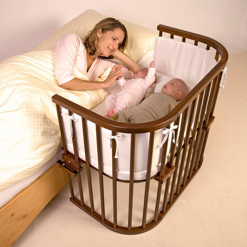 BabyBay Maxi - Dark Wood-Cribs-Default- Natural Baby Shower