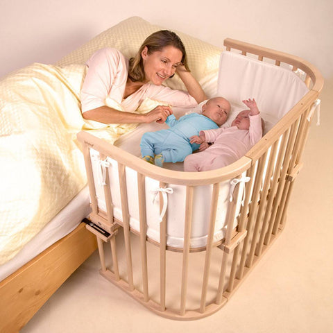 BabyBay Maxi - Natural Beech-Cribs-Default- Natural Baby Shower
