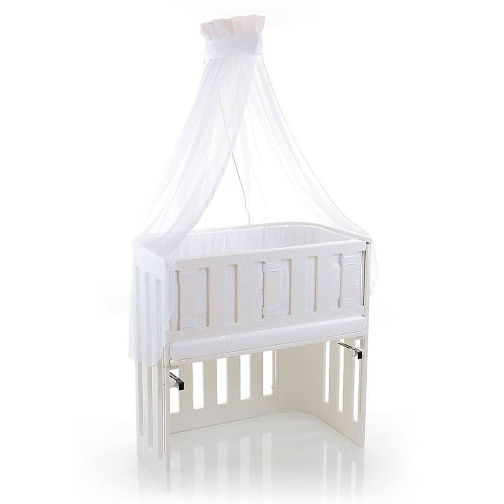 Cradles & Hammocks - BabyBay Trend Side Bar - White