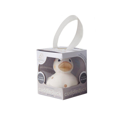 Cuddledry CuddleDuck Beige Dot-Bath Toys-Default- Natural Baby Shower