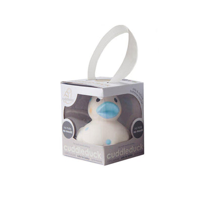 Cuddledry CuddleDuck Blue Dot-Bath Toys-Default- Natural Baby Shower