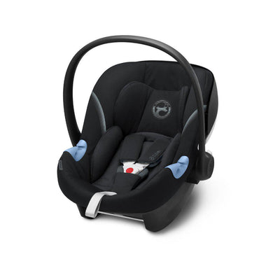 CYBEX Aton M i-Size Car Seat - Deep Black-Car Seats- Natural Baby Shower
