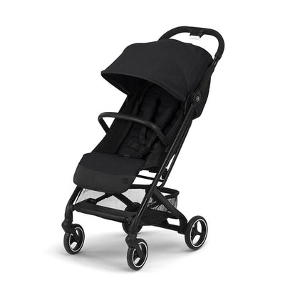CYBEX Beezy Pushchair - Deep Black-Strollers-Deep Black- Natural Baby Shower