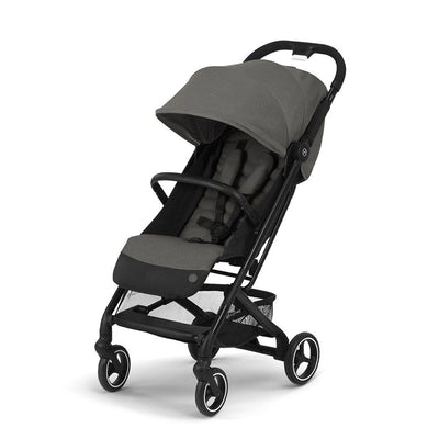 CYBEX Beezy Pushchair - Soho Grey-Strollers-Soho Grey- Natural Baby Shower