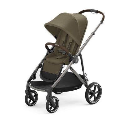 CYBEX Gazelle S Pushchair - Taupe + Classic Beige-Strollers- Natural Baby Shower